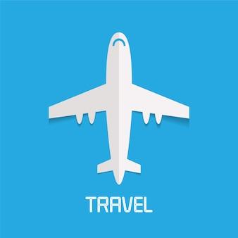 Vliegtuig illustratie