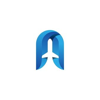 Vliegtuig logo