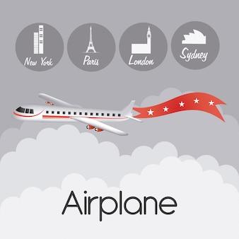 Vliegtuig ontwerp.