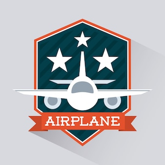 Vliegtuig pictogram