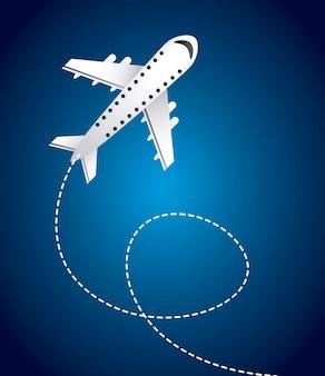 Vliegtuig reizen