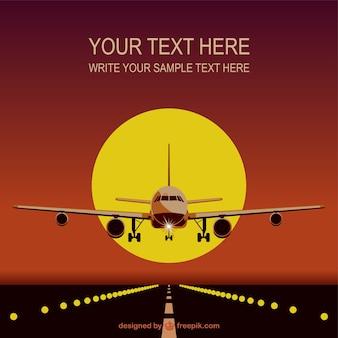 Vliegtuig sjabloon gratis te downloaden