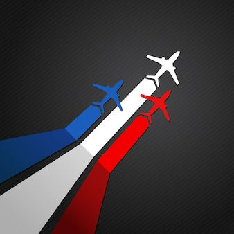 Vliegtuig van frankrijk
