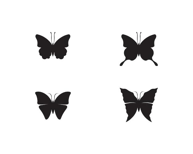 Vlinder conceptueel eenvoudig, kleurrijk pictogram. logo.
