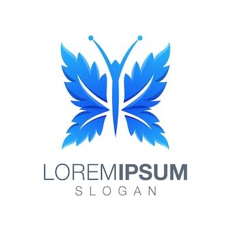 Vlinder kleur logo