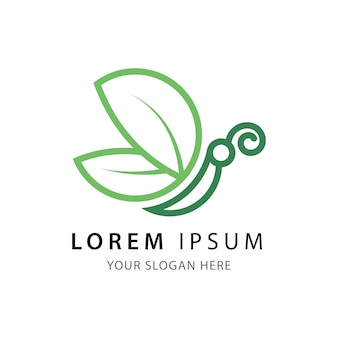 Vlinder verlaat logo