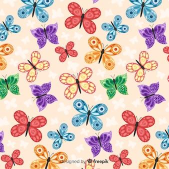 Vlinders patroon