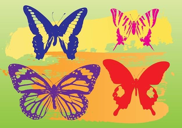 Vlinders vector graphics