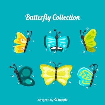 Vlinders vliegende set
