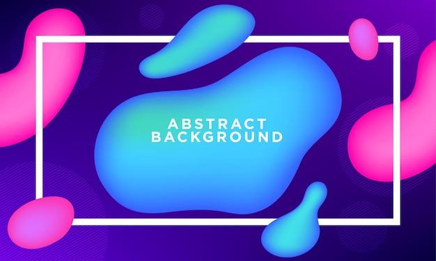 Vloeibaar abstract achtergrondconcept