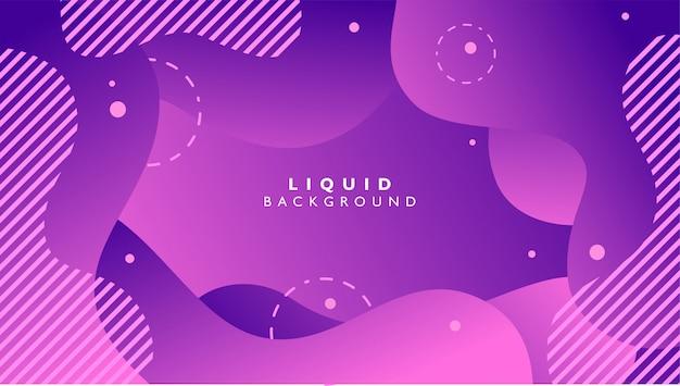 Vloeibare abstracte achtergrond met purpere kleur