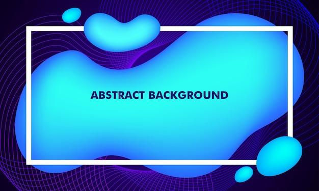 Vloeibare abstracte achtergrond
