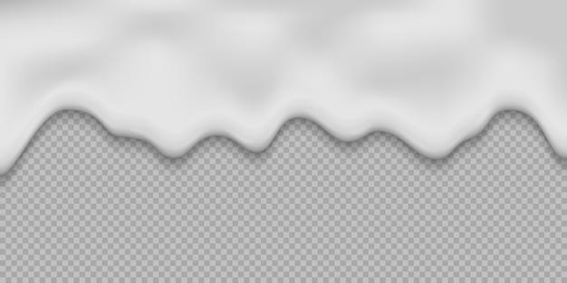 Vloeibare melkroom achtergrond