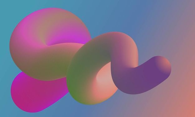 Vloeiende abstracte achtergrond voor website