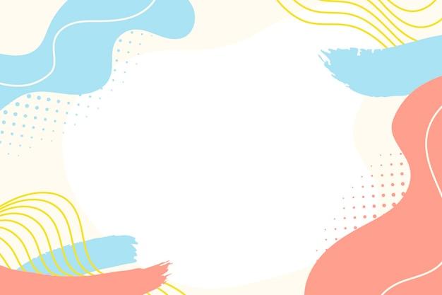 Vloeiende abstracte achtergrond