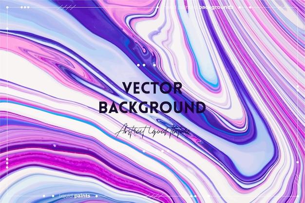 Vloeiende kunst textuur abstracte achtergrond met wervelende verf effect vloeibare acryl foto met stromen een...