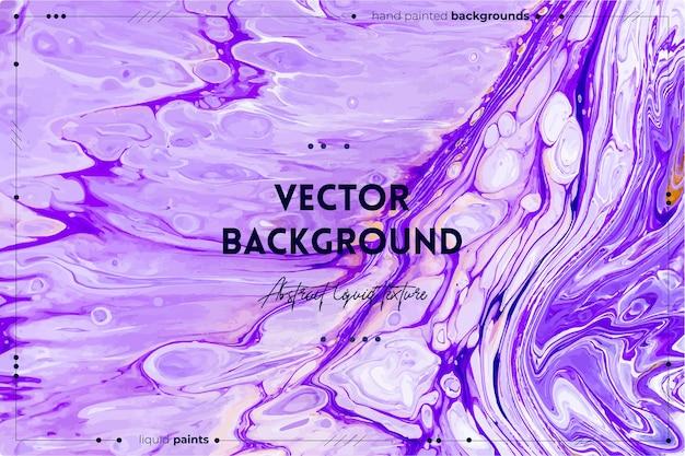Vloeiende kunsttextuurachtergrond met abstract iriserend verfeffect vloeibaar acrylkunstwerk met stromen...