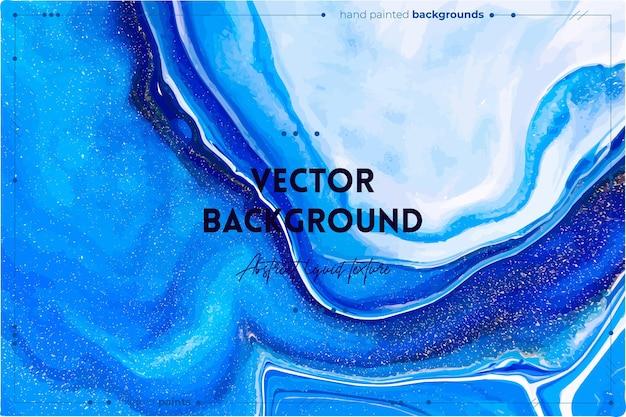 Vloeiende textuur abstracte achtergrond met geverfd effect.