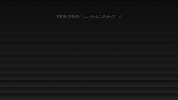 Vloeiende vervagende rechte lijnen 3d wazig effect donkergrijze abstracte achtergrond