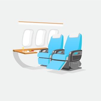 Vlucht zitplaatsen