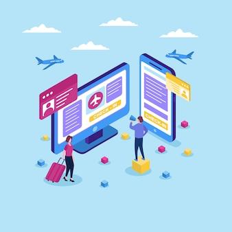 Vluchtcontrole in mobiele applicatie