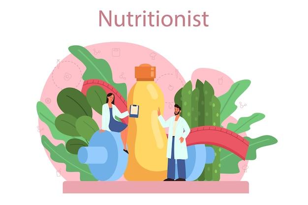 Voedingsdeskundige concept