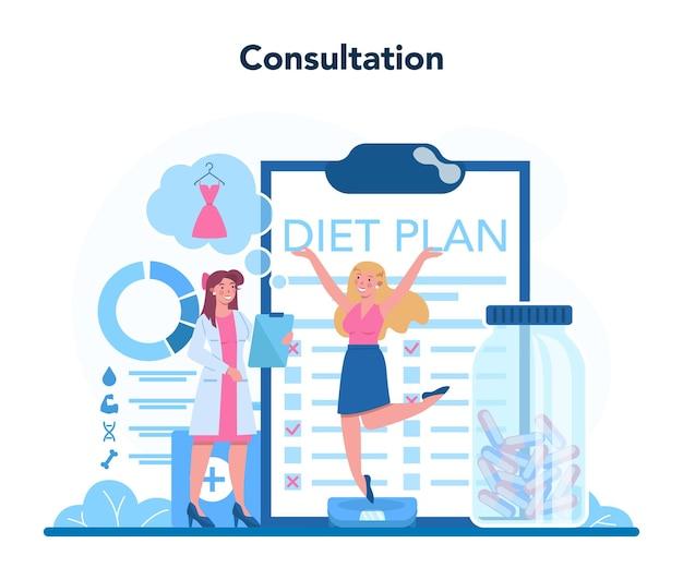 Voedingstherapie met gezonde voeding