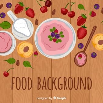 Voedsel achtergrond