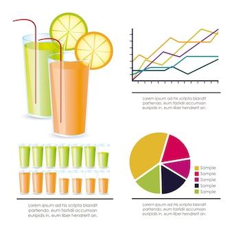Voedsel infographics