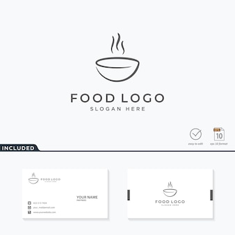 Voedsel logo ontwerp