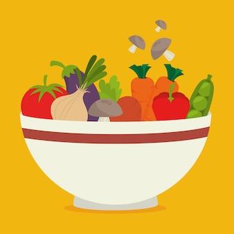 Voedsel ontwerp.