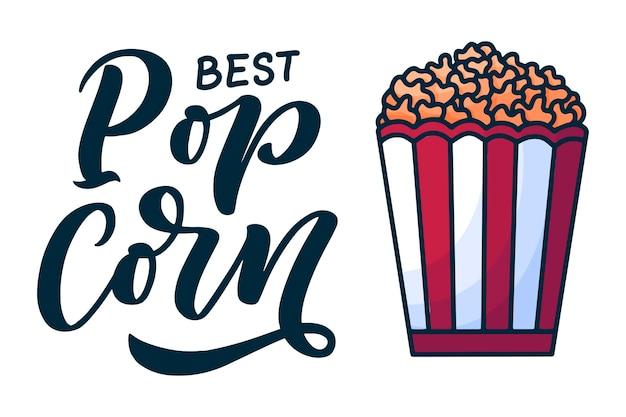 Voedsel typografie voor banner- en promo-ontwerp