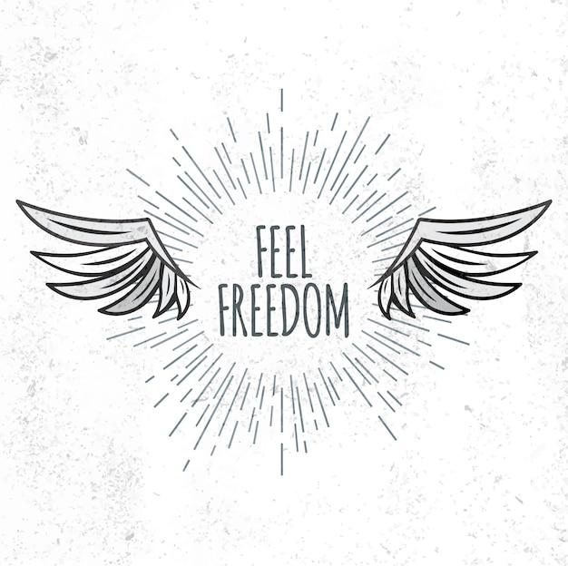 Voel de vrijheid van letters