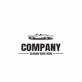 Voertuig logo sjabloon. auto pictogram voor het bedrijfsleven. huur, reparatie, winkel garage.