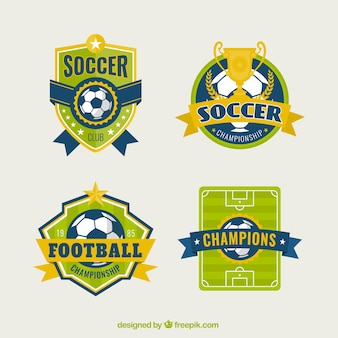 Voetbal badges