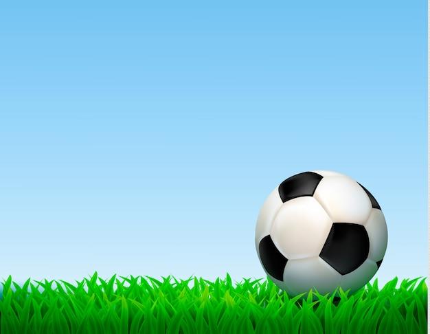 Voetbal bal illustratie