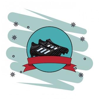 Voetbal bal pictogram
