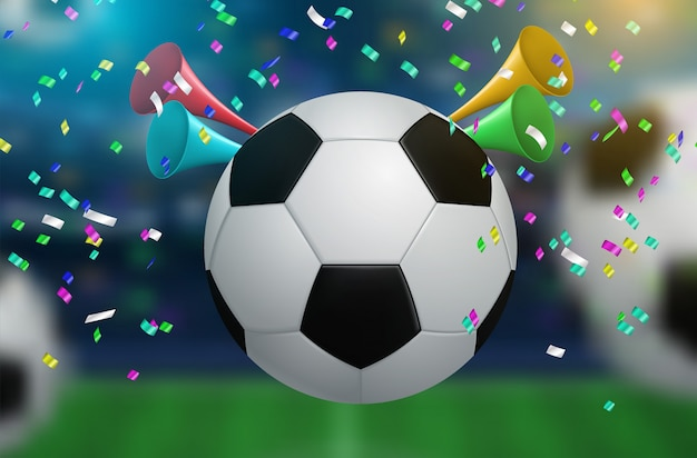 Voetbal beker