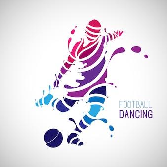 Voetbal dansen