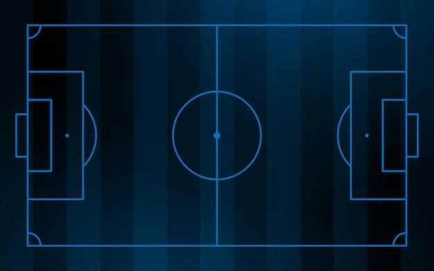Voetbal en voetbalveld