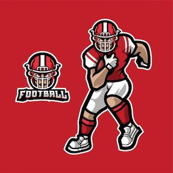 Voetbal esport logo