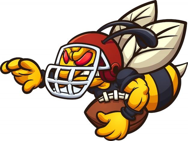 Voetbal hornet