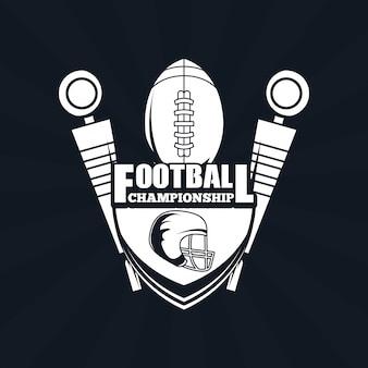 Voetbal kampioenschap pictogram
