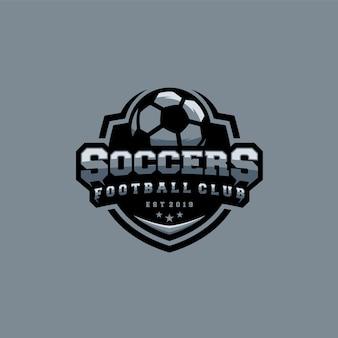 Voetbal logo sjabloon