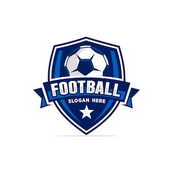 Voetbal logo vector