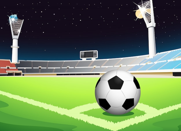 Voetbal 's nachts
