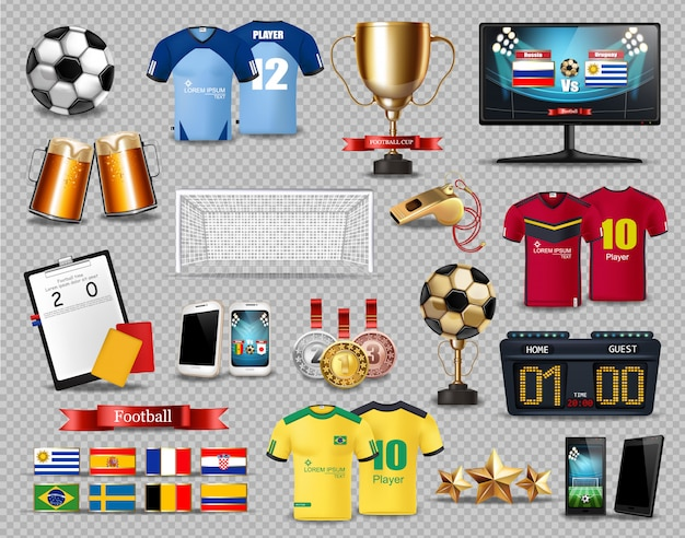 Voetbal set collectie