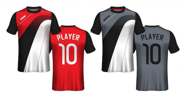 Voetbal shirt sport t-shirt.
