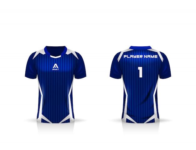 Voetbal sport jersey