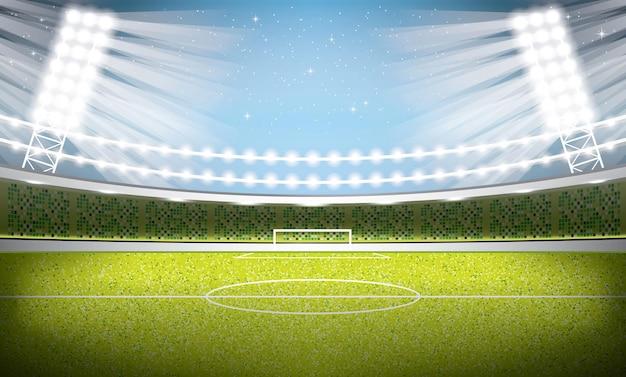 Voetbal stadion. voetbal arena.
